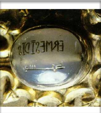 Seal of Countess Ermessenda of Barcelona, Girona and Osona in the Museu Diocesà de Girona