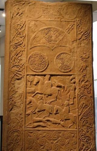 The Hilton of Cadboll symbol stone
