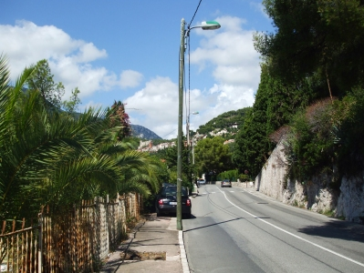 Ascent between Cap Martin and Roquebrune
