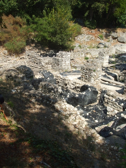 Ruins of the supposedly tenth-century cathedral of Nice