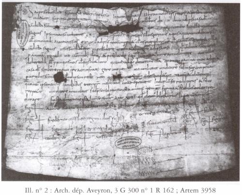 Rodez, Archives Départementales d'Aveyron, 3 G 300 no.1 R 162