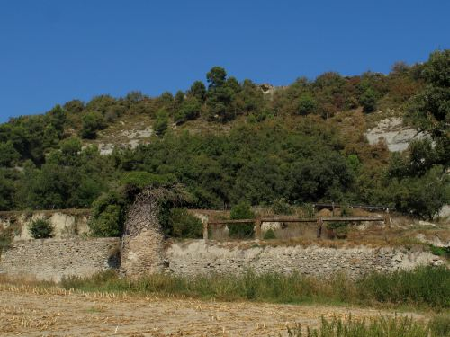Remains of the alleged Castell de Malla