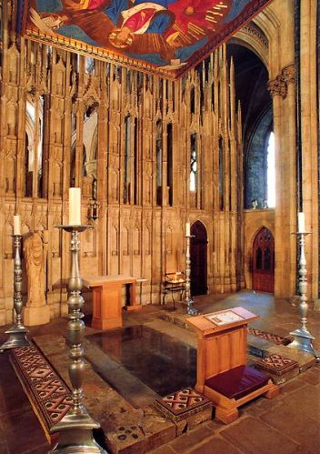 St Cuthbert's shrine, Durham Cathedral