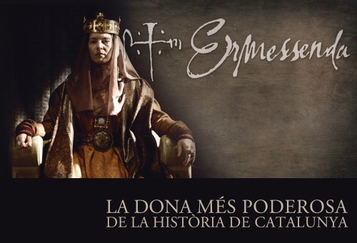 Countess Ermessenda of Barcelona, Girona and Osona as portrayed in Televisió de Catalunya's series Ermessenda