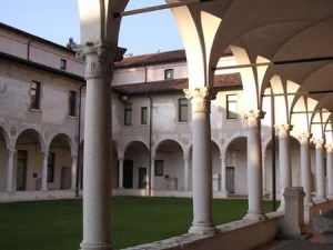 The cloister of Santa Giulia di Brescia