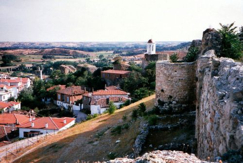 Castles at Didymoteicho in Thrace, now Greece
