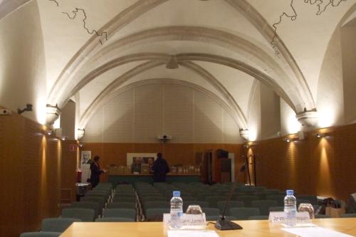 Sala d'adreça in the Institut d'Estudis Catalans