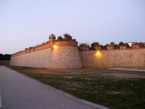 Bastions of the Castell de Montjuïc, Barcelona