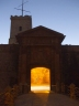 Entrance gateway to the Castell de Montjuïc