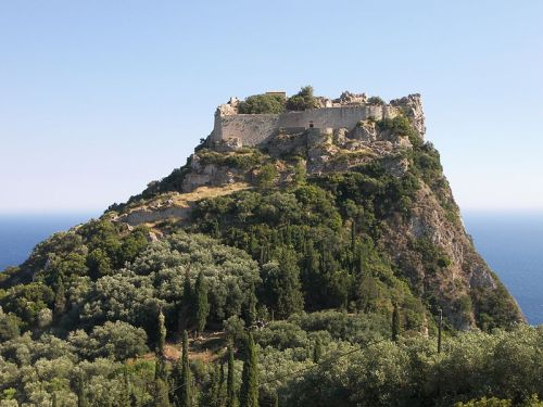 The Angelokastron in Corfu