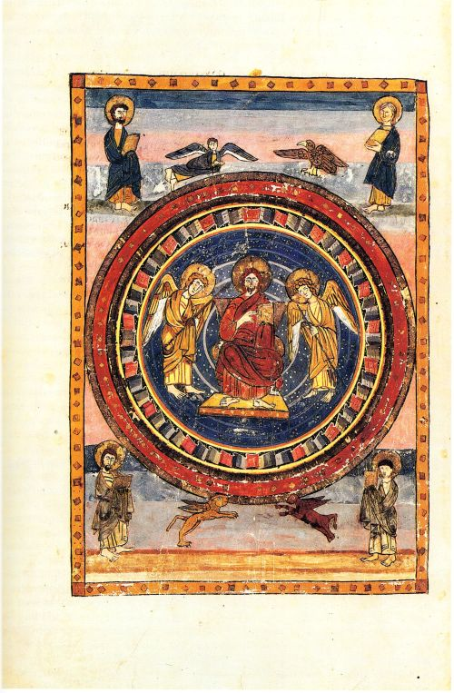 Christ in Majesty, from the Codex Amiatinus