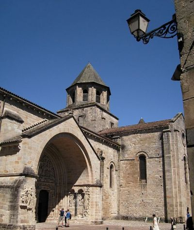Thesouth portal of St-Pierre de Beaulieu