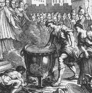 the punishment for patricide during the roman era Romans believed in deterring crime by harsh punishment punishment in the roman empire beating  throwing into a river regulated patricide important for romans .