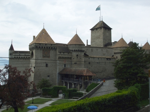 Château Chillon from the roadside