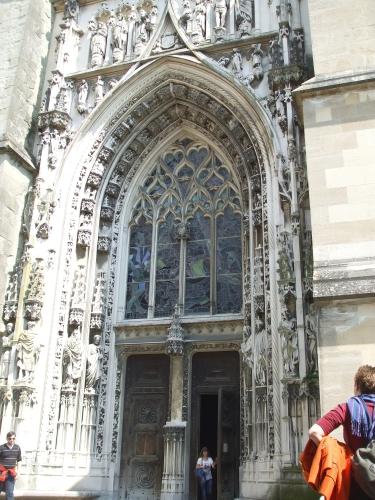 Portal Of Notre Dame De Lausanne