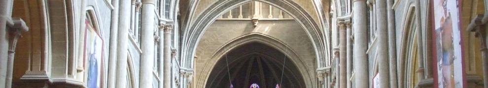 Nave of Notre-Dame de Lausanne