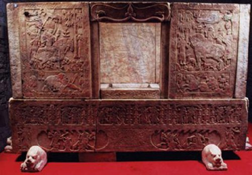 The sixth-century sarcophagus of Yu Hong from Jinyuan in Shanxi province