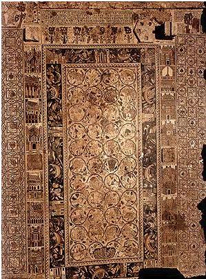 A 'corrected' mosaic at St Stephen's Umm al-Rasas, Jordan