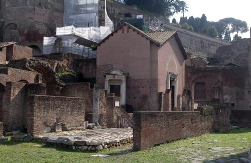 Santa Maria Antiqua, in the Forum Magnum, Rome.