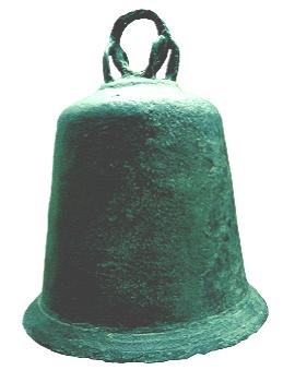 The unbroken church bell recovered from Hedeby harbour