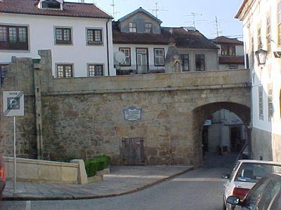 The Porta dos Cavaleiros in Viseu