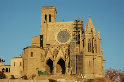 The church of Santa Maria de Manresa
