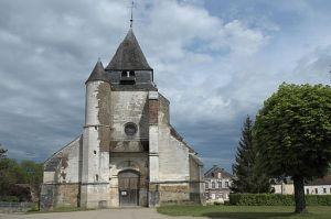 The church of St-Loup de Sens