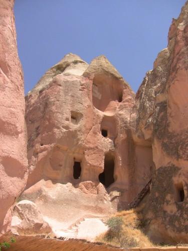 The church of St John, Güllü Dere, Cappadocia in Turkey