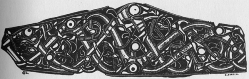 A bronze clasp from Gotland