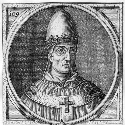 Portrait of Pope John VIII