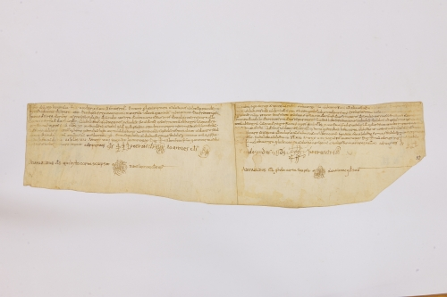 Arxiu Monàstic de Montserrat, Pergamins Sant Benet de Bages, Serie I núm. 40-41
