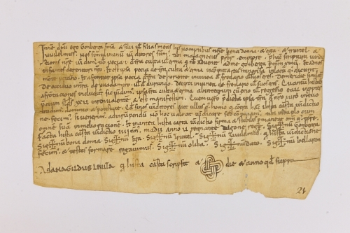 Arxiu Monàstic de Montserrat, Pergamins Sant Benet de Bages, Serie I, núm. 48