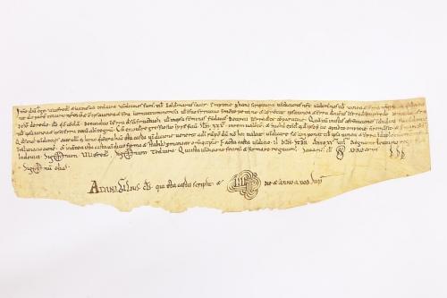 Arxiu Monàstic de Montserrat, Pergamins Sant Benet de Bages, Serie III, núm. 1097