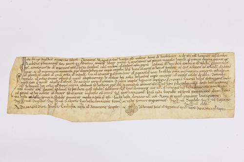 Arxiu Monàstic de Montserrat, Pergamins Sant Benet de Bages, Serie III, núm. 1112