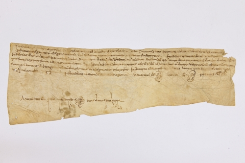 Arxiu Monàstic de Montserrat, Pergamins Sant Benet de Bages, Serie III, núm. 1118