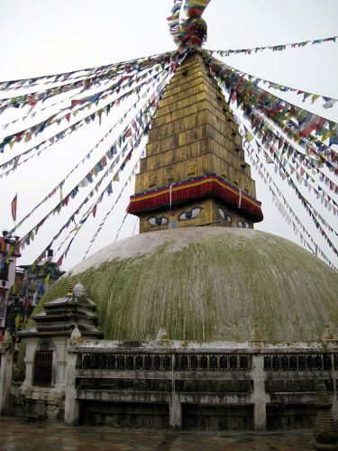 The Chahabil stupa in Nepal