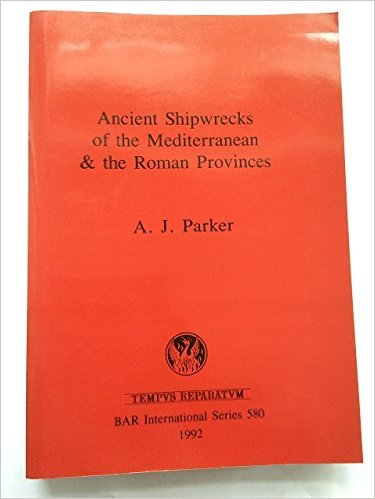 Cover of Parker's Ancient Shipwrecks of the Mediterranean