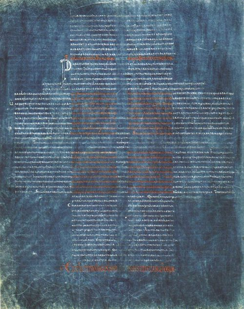 Cava de' Tirreni, Biblioteca statale del Monumento Nazionale Badia di Cava, Ms. memb. I, fo. 220v