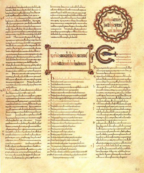 Cava de' Tirreni, Biblioteca statale del Monumento Nazionale Badia di Cava, Ms. memb. I, fo. 69r