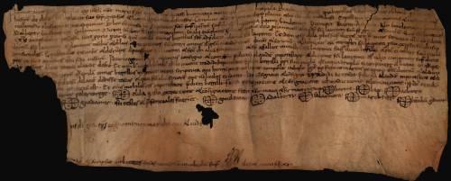 Barcelona, Biblioteca de Catalunya, pergamins 2079, recto