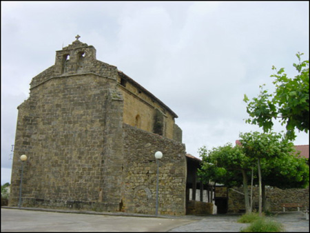 The church of San Martín Getaria, Gipuzkoa