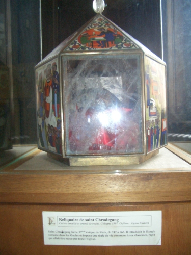 Reliquary of Saint Chrodegang in Metz cathedral