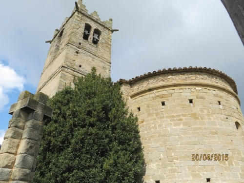 Tower and apse of Sant Andreu de Gurb
