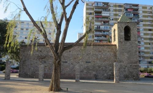 Side view of Santa Maria de Bellvitge