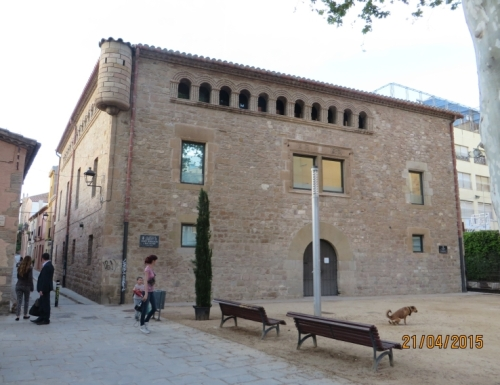 The sixteenth-century buildings of L'Harmonia, in Hospitalet de Llobregat