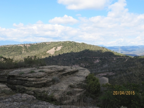 View from the Serra de Taradell