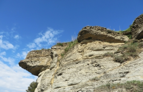 Outcrops of the Turó del Castell de Tona