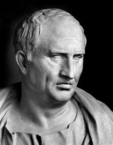 Portrait bust of M. Tullius Cicero