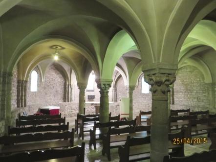 The crypt of Sant Pere de Vic