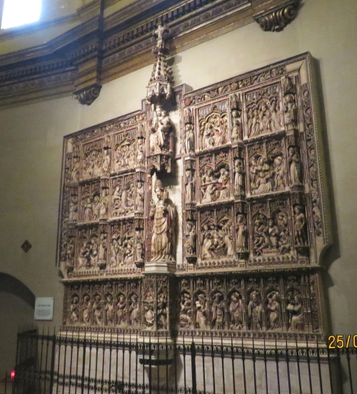 Great altarpiece of the cathedral of Sant Pere de Vic
